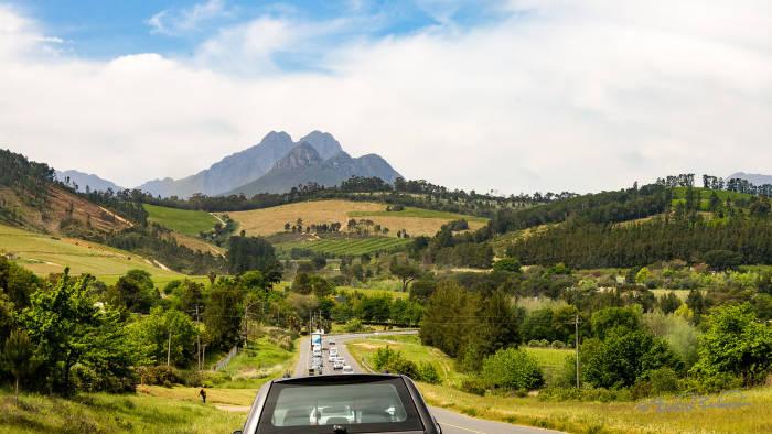 Погружение в Южную Африку