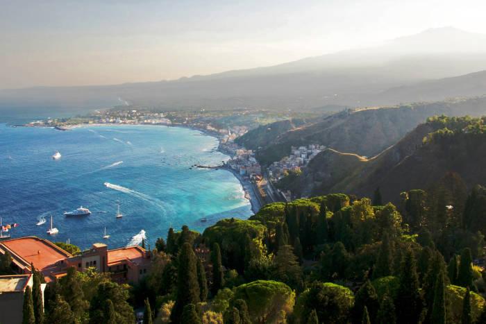 На Сицилию с Дарьей Субботиной