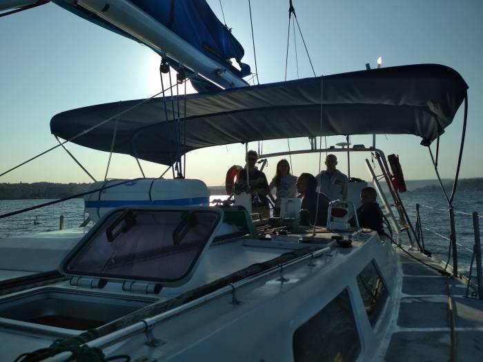 По южным берегам Крыма на парусных яхтах
