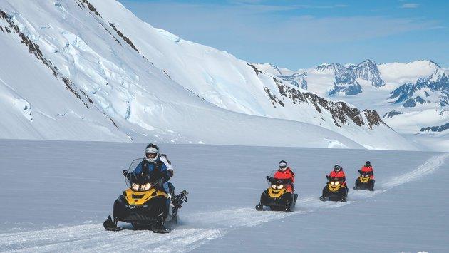 Встречаем Новый 2021 год в Антарктиде